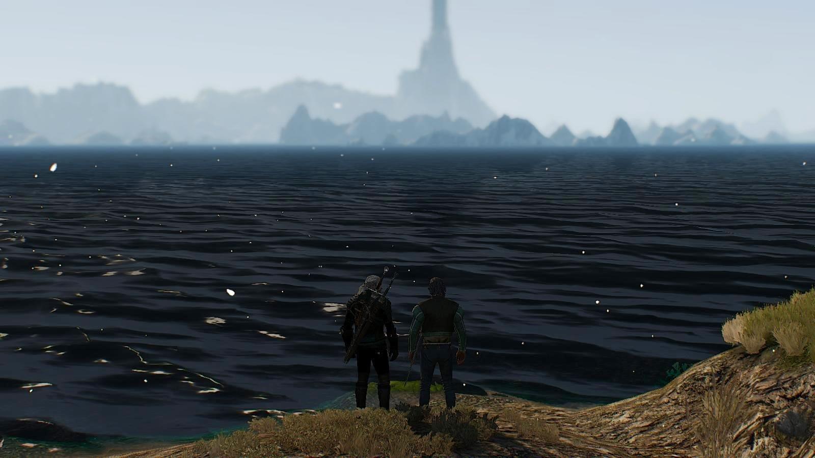 У моря-океана.. Ведьмак III (сборка Торна)
