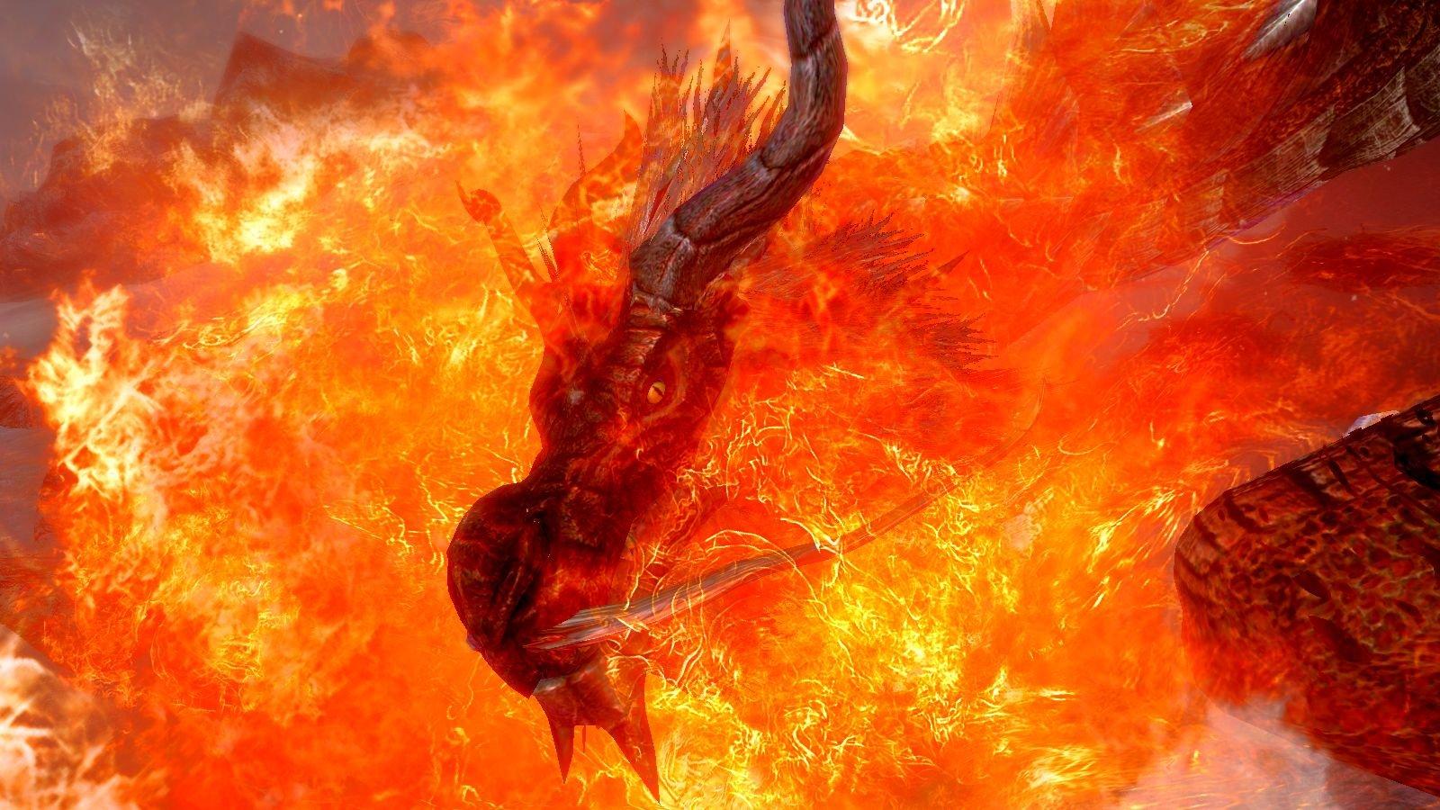 Flame dragon.. SkyrimSE (сборка 6.0)