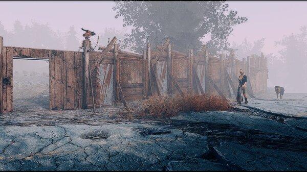 Путешественница мимо поселения проходит