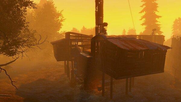 "Ранее утро в ""Зимонджа"". Poselenia Windfire"
