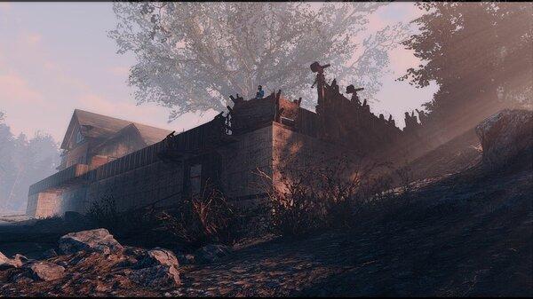 """Одна из моих """"крепостей"""" ;) Poselenia Windfire"""