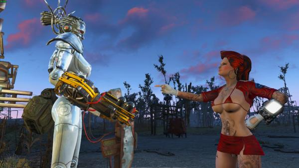 Алиса и обновлённая робот Ада.