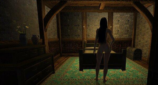 В спальне.. OBLIVION (Сборка 4.0)