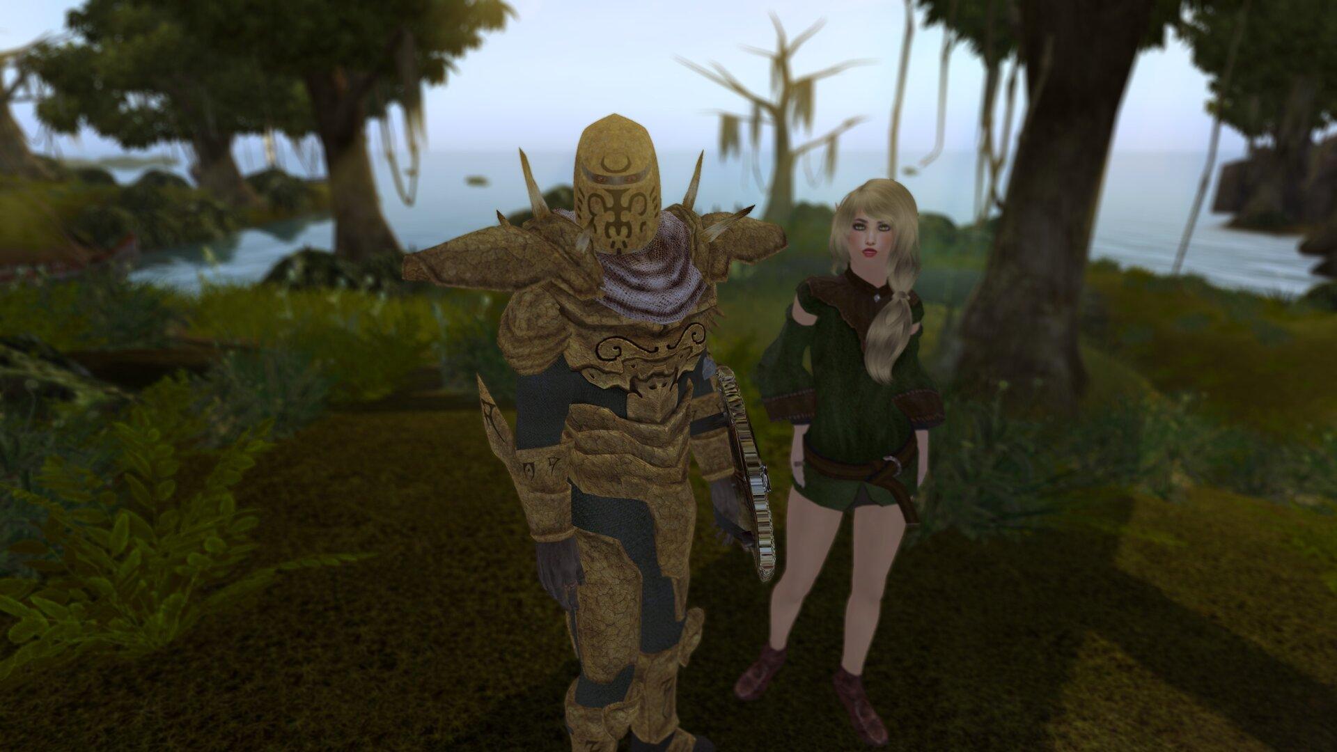 Вилье понравился стражник... и мне тоже.