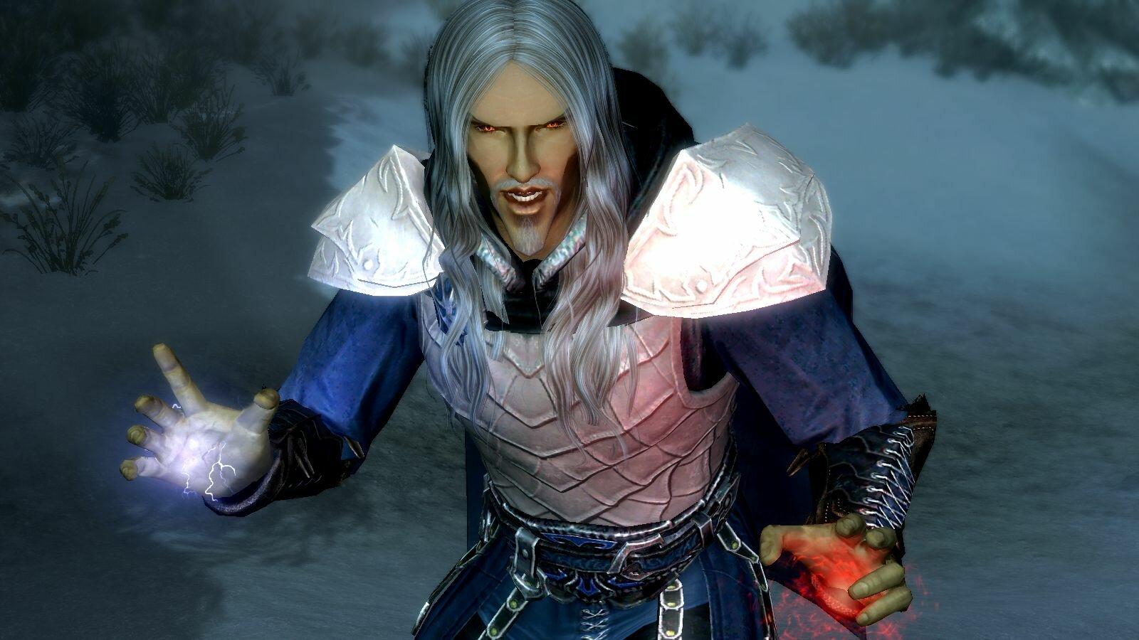 Вампир высший эльф.. SkyrimSE (сборка 6.0)