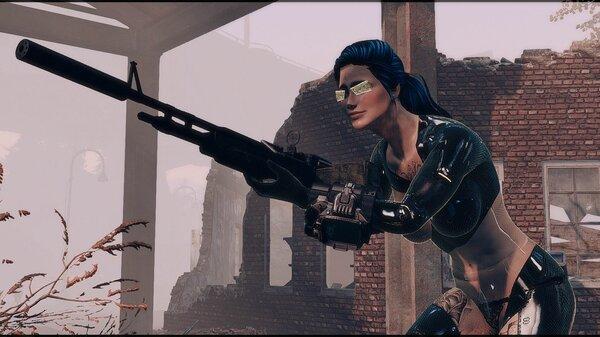 Крадемся ) Fallout-4 (Сборка 6.5)