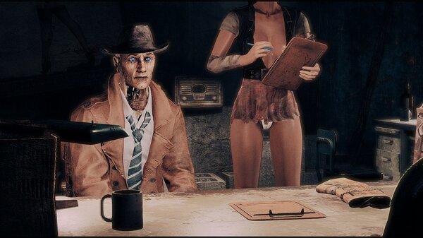 У Валентайна.. Fallout-4 (Сборка 6.5)