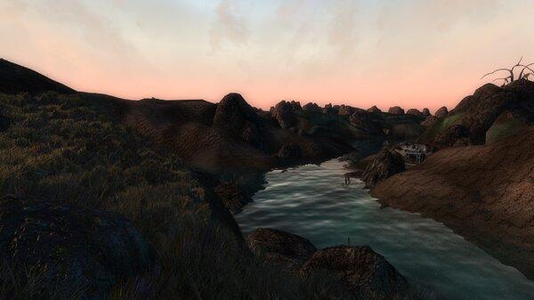 ... Быстрая река.