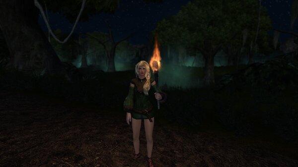 Вилья с факелом.