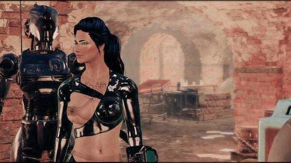 В Подземке.. Fallout-4 (Сборка 6.5)