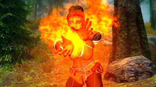Огненная Дориана. SkyrimSE (сборка 6.0)
