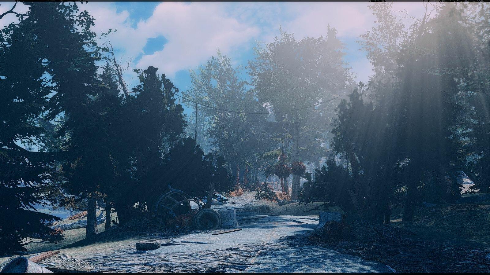 Пейзаж.. Fallout-4 (Сборка 6.5)