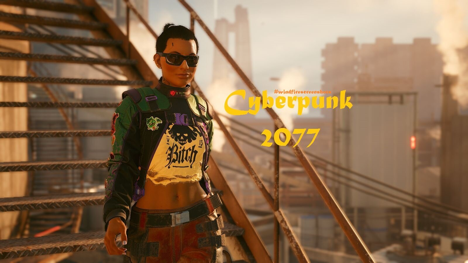 обложка-3 и МОЯ ВИ :) Cyberpunk 2077