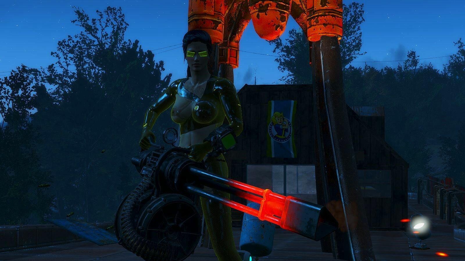 Пушка )) Fallout-4 (Сборка 6.5)