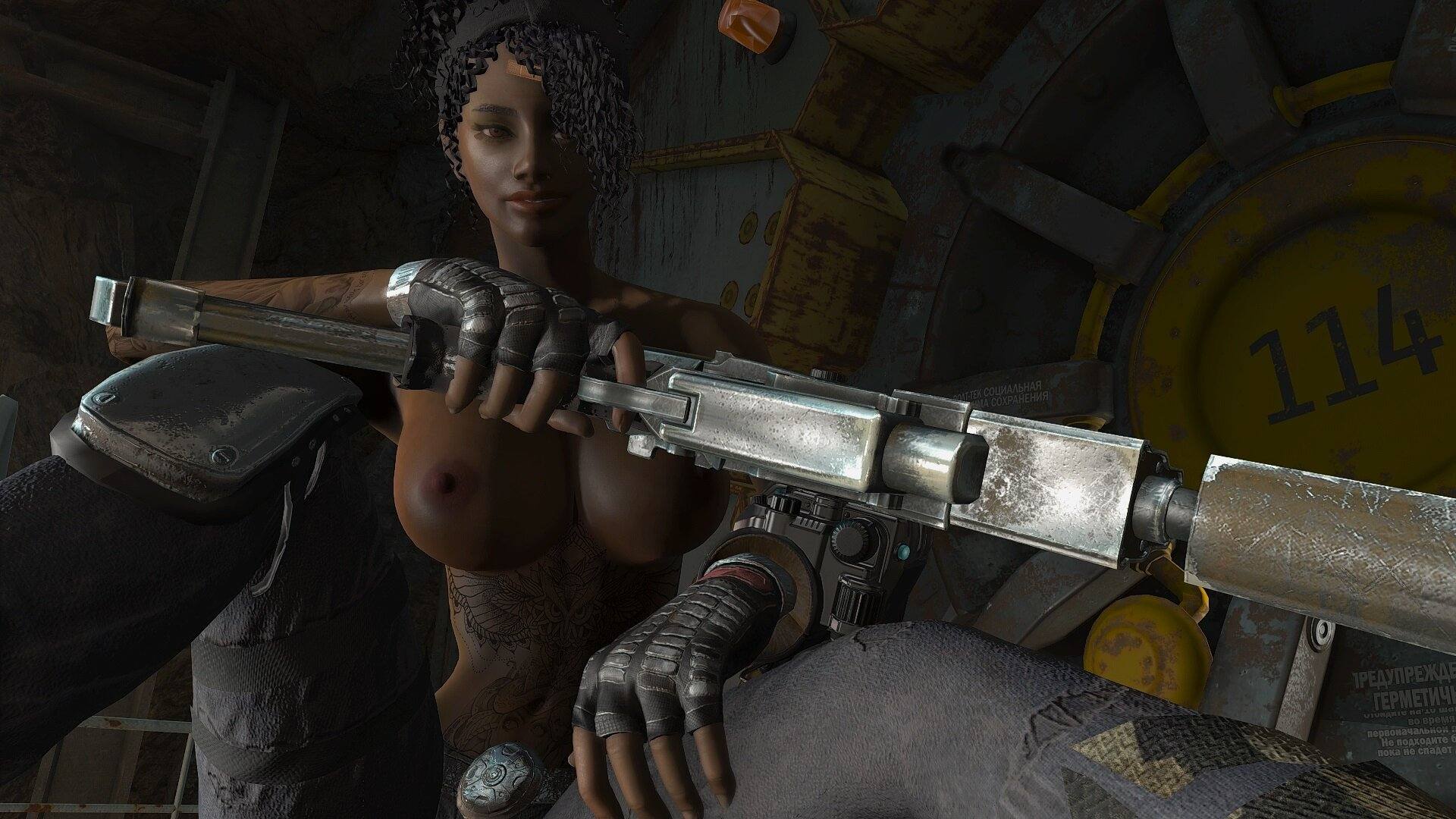 Fallout4 Эшли в поисках Ника Валентайна