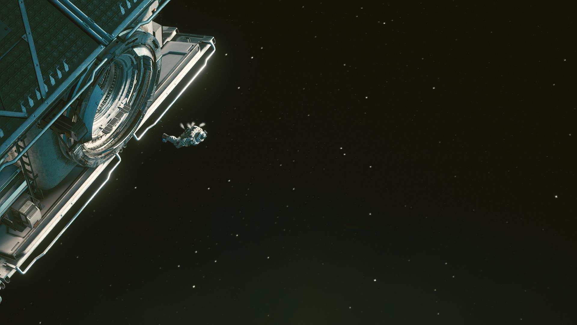 Ви в открытом космосе.