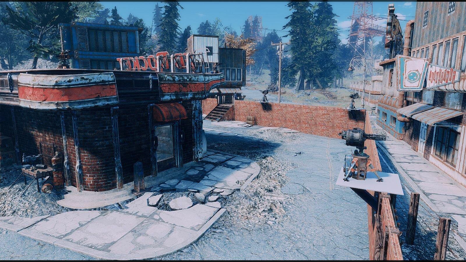 Поселение в Red Rocket..
