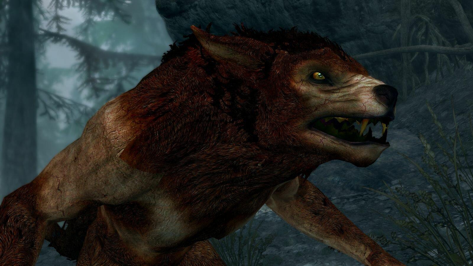Волчара.. )) SkyrimSE (сборка 6.0)
