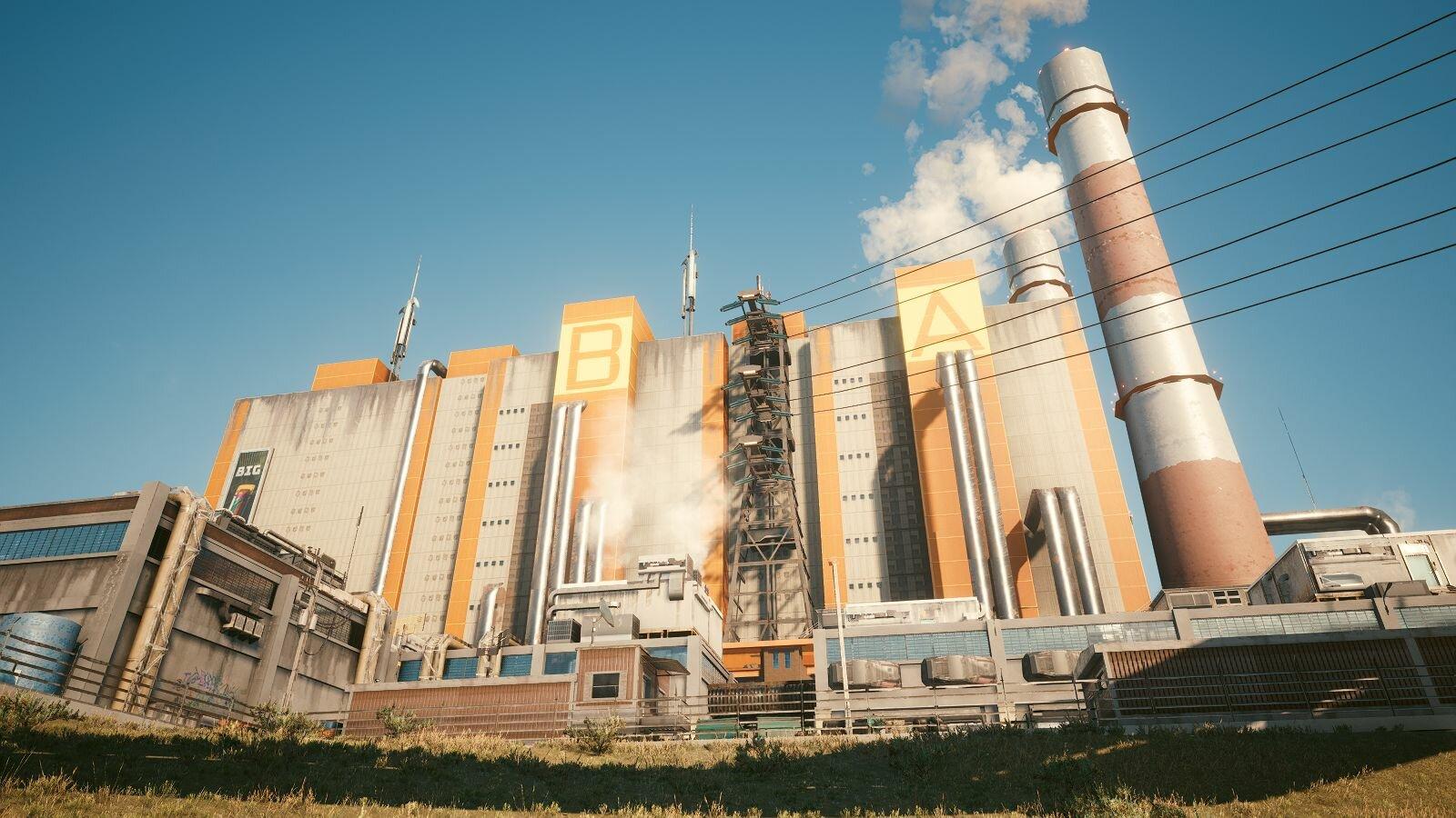 Есть заводы напоминающие - цех Корвега,