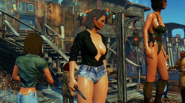 На Фар Харборе.. Fallout-4 (Сборка 6.5)