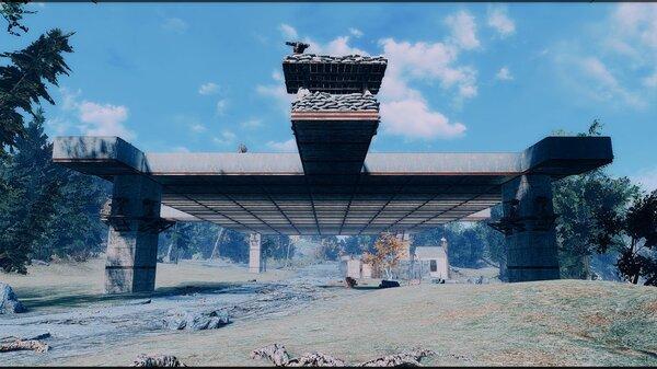 Новое поселение в очень опасном месте..