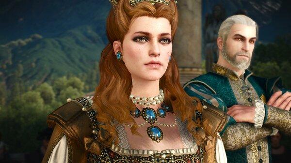 Анна и Геральт.. Ведьмак III (сборка Торна)