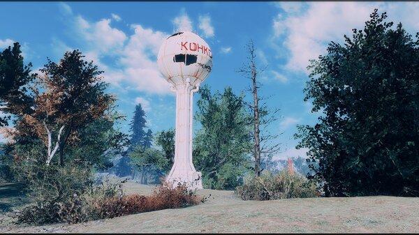 Небо. Fallout-4 (Сборка 6.5)