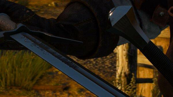 Особый меч.. Ведьмак III (сборка Торна)