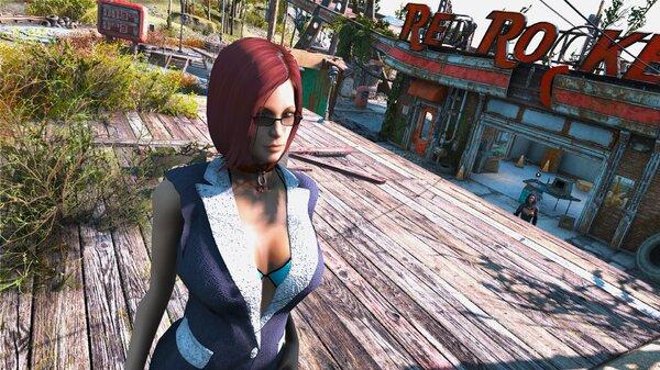 Fallout4 Кейт занимается управлением Красной Ракеты