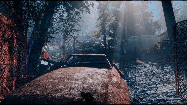 Мертвый пейзаж.. Fallout-4 (Сборка 6.5)