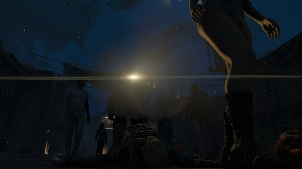 Fallout4 В Сэнкчуари под покровом ночи