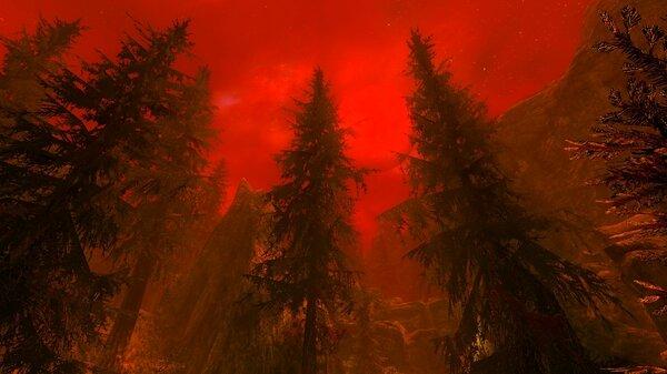 Blood moon.. SkyrimSE (сборка 6.0)