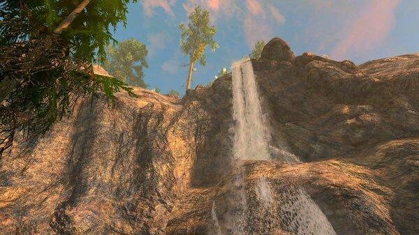 Водопад.. SkyrimSE (сборка 6.0)