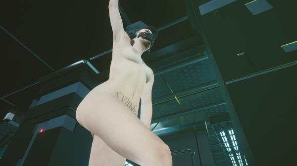 Плавающая танцовщица в «Посмертии».