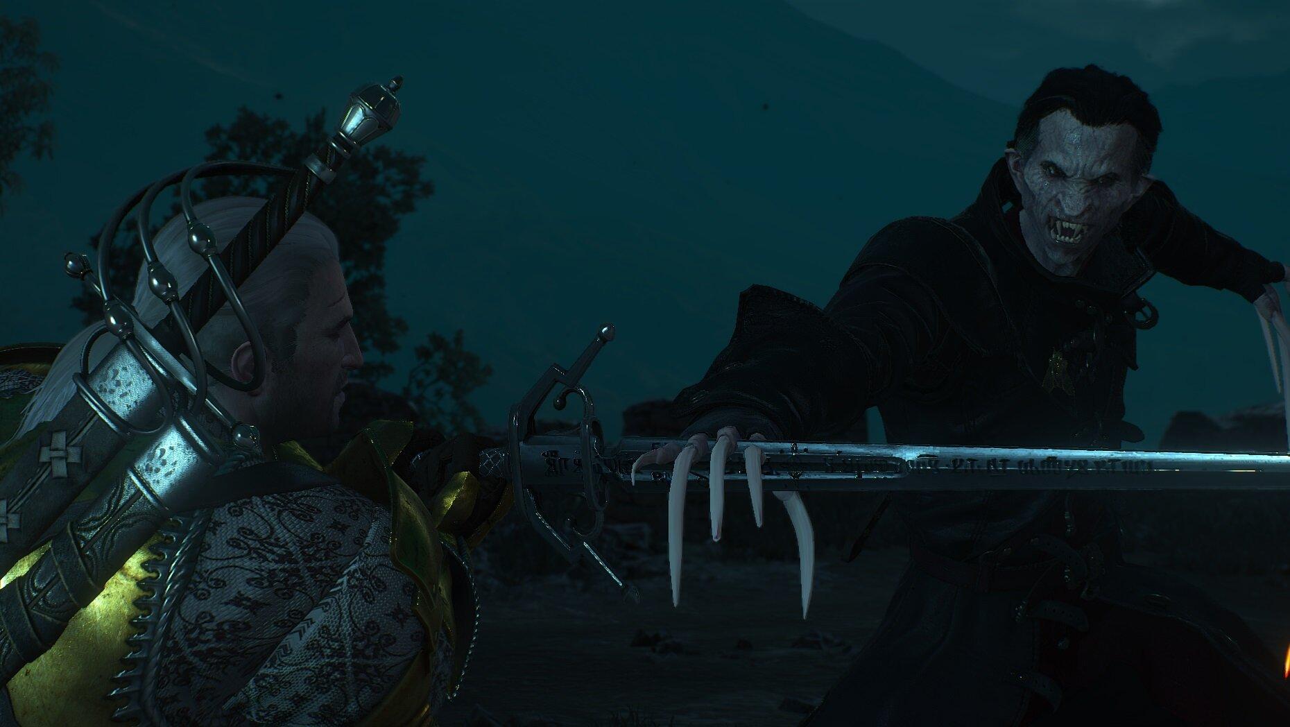 witcher3 Финальный бой
