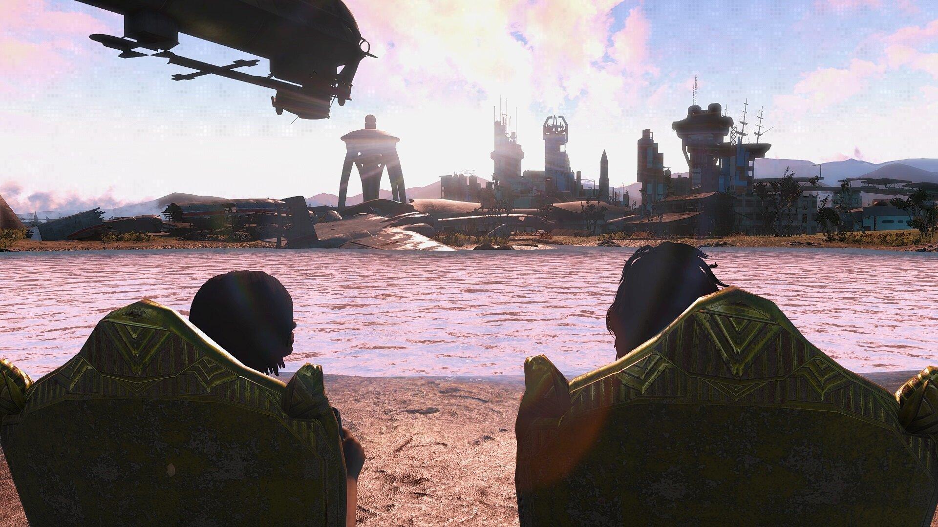 Fallout4 Последний выходной лета