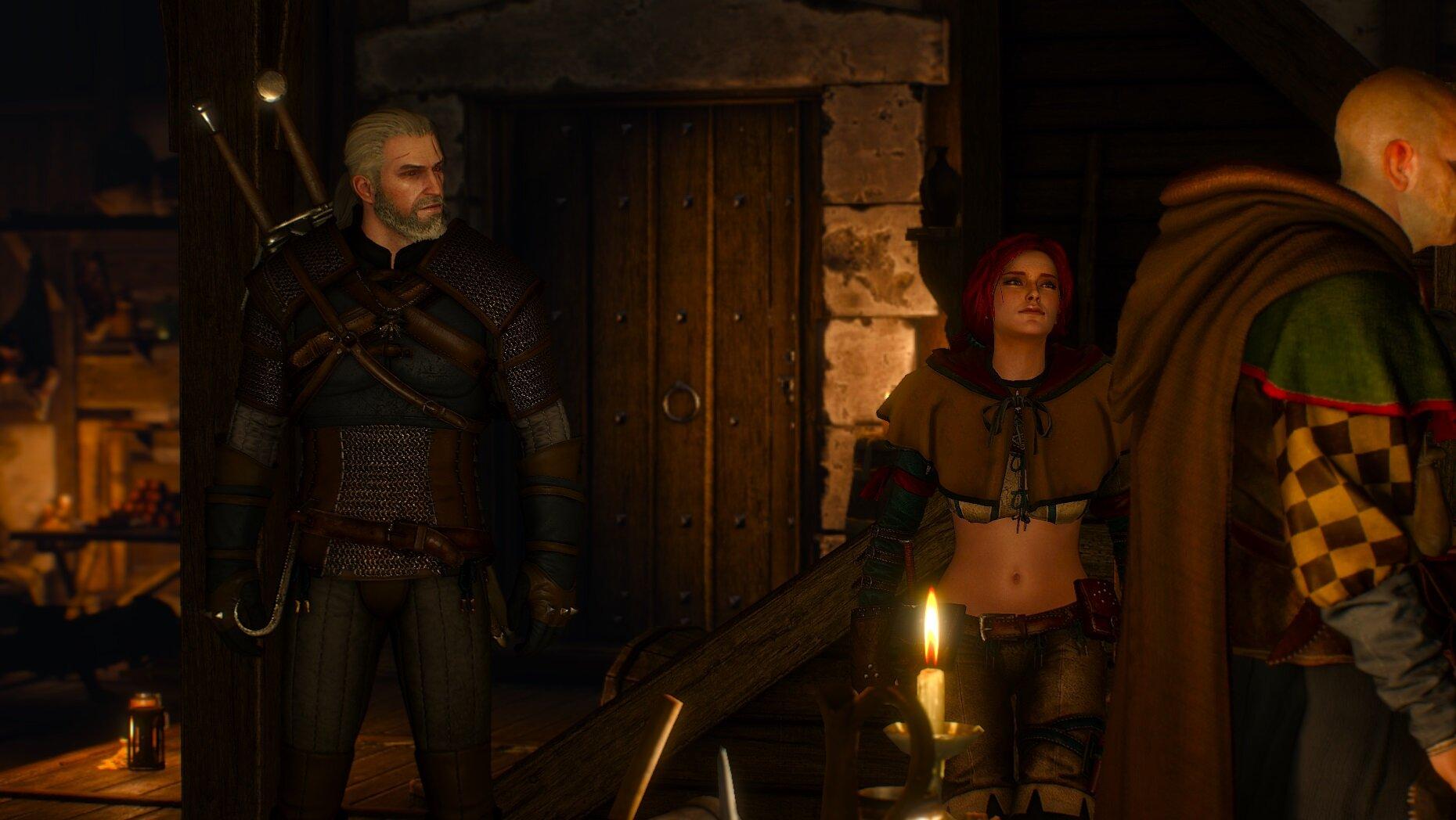 witcher3 Встреча с Трисс