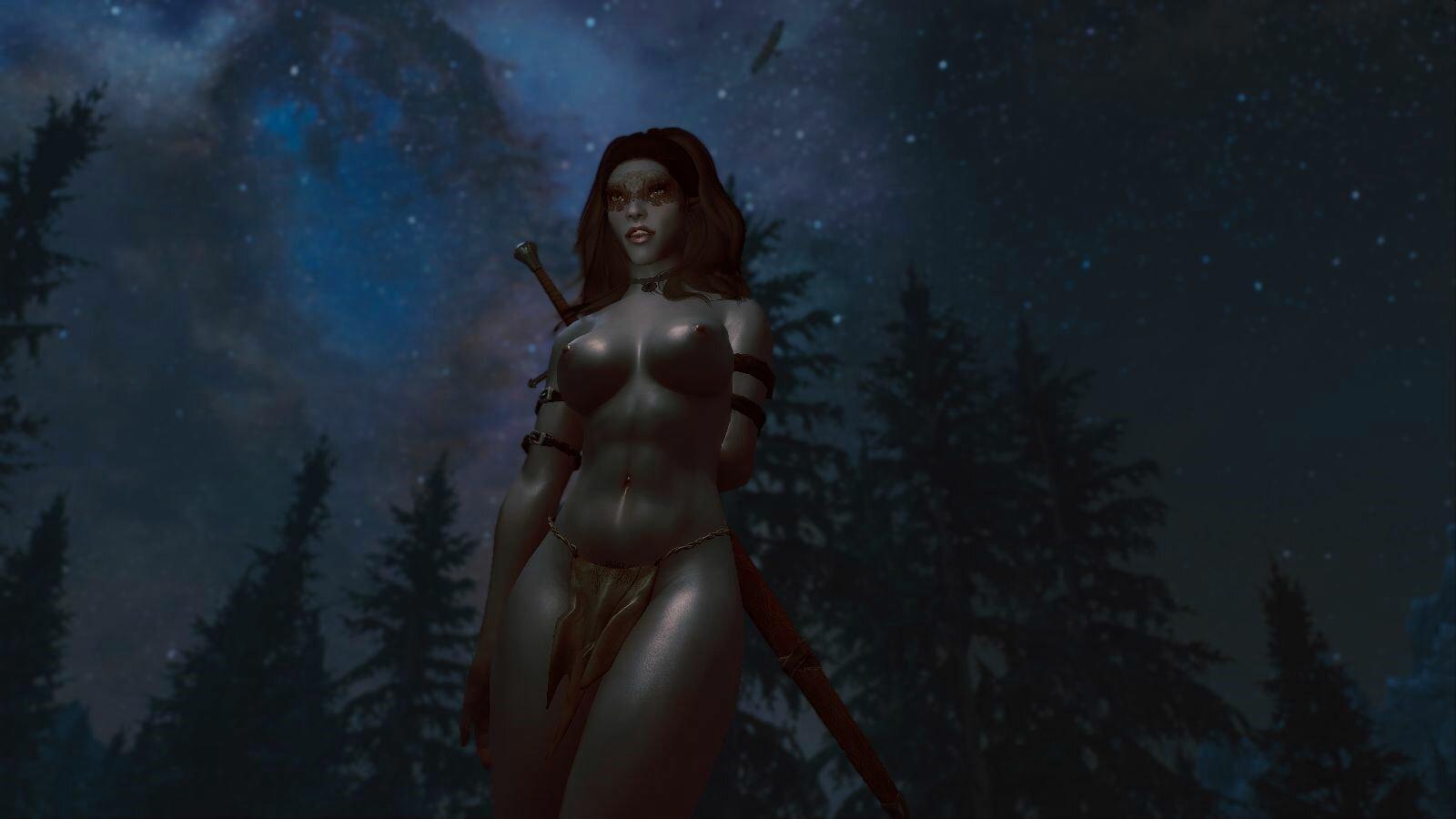 Дарклинг в ночи.. SkyrimSE (сборка 6.0)