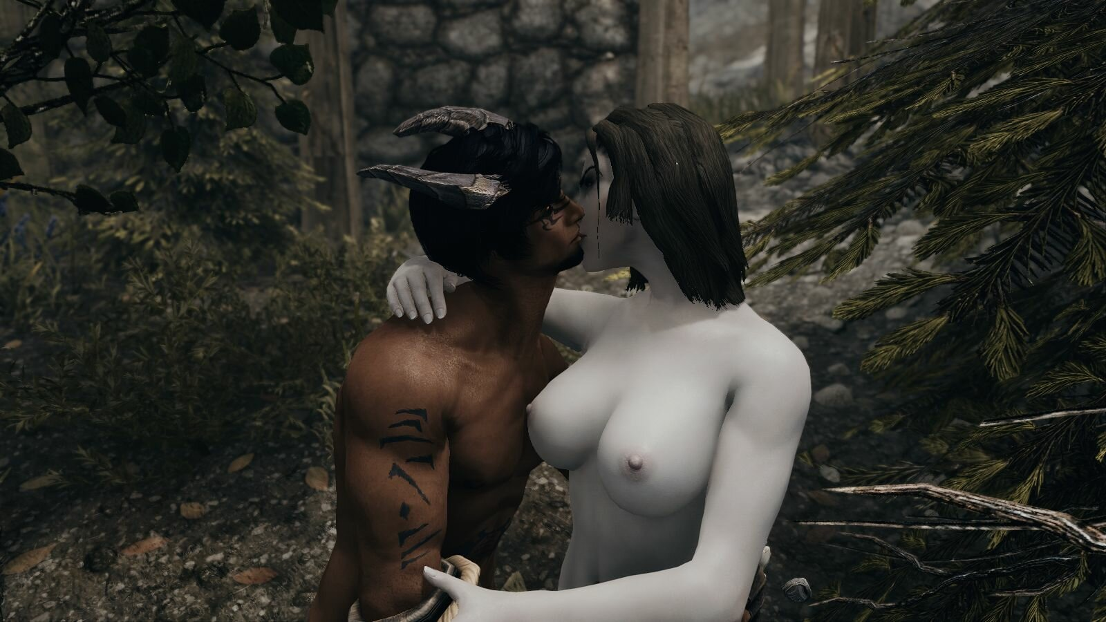 Нур соблазнил деву )) SkyrimSE (сборка 6.0)