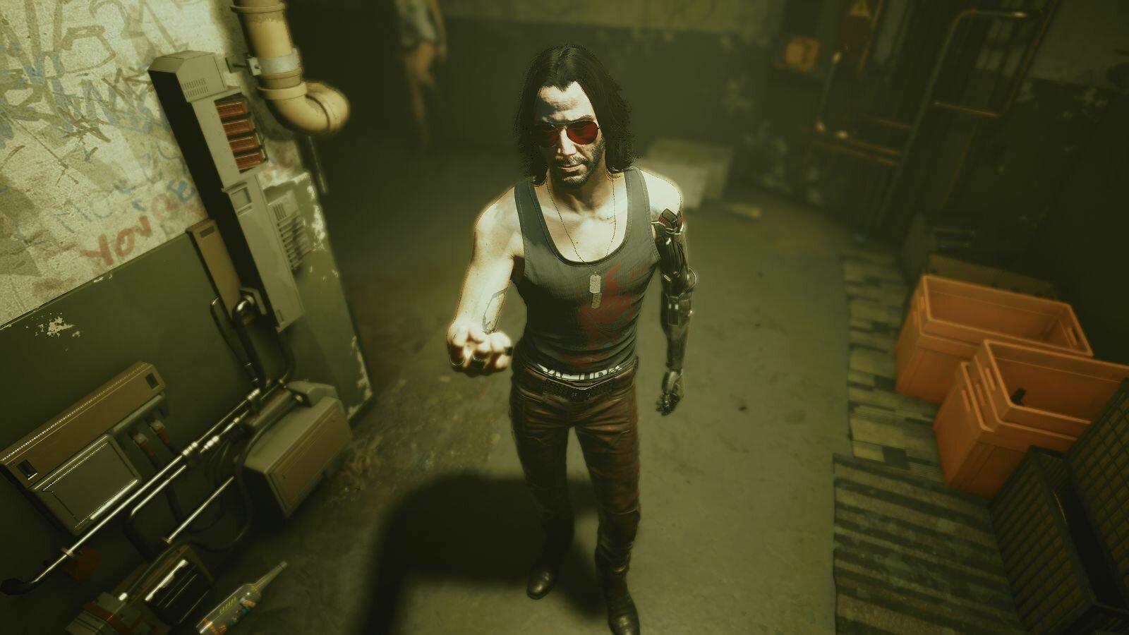 Красавчик Джони )) Cyberpunk 2077