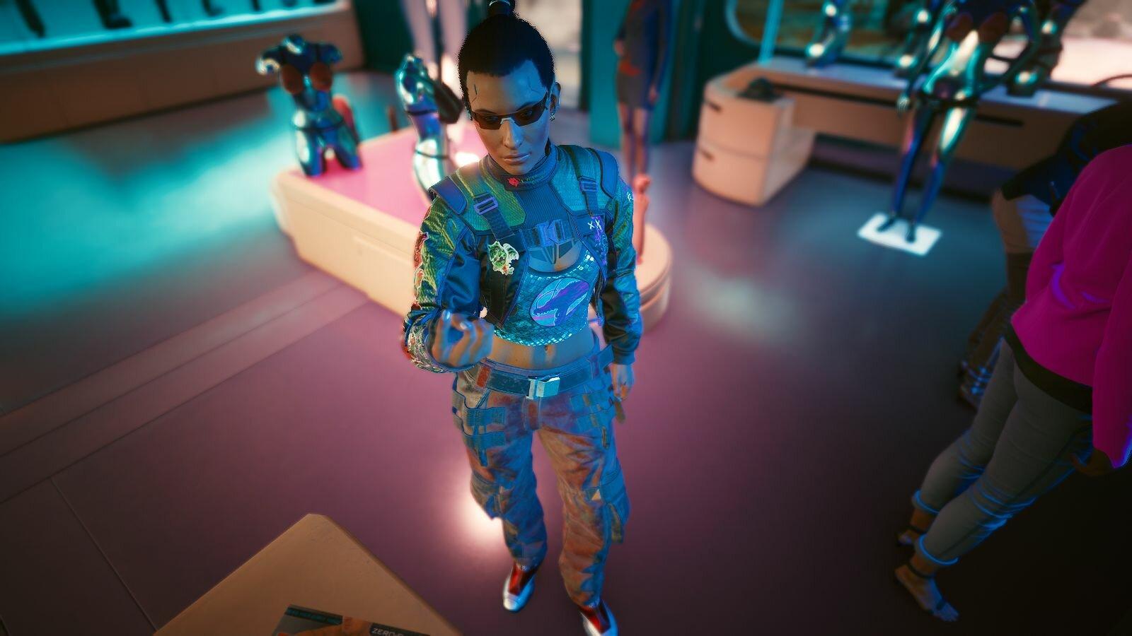 ВИ в Сексшопе.. Cyberpunk 2077
