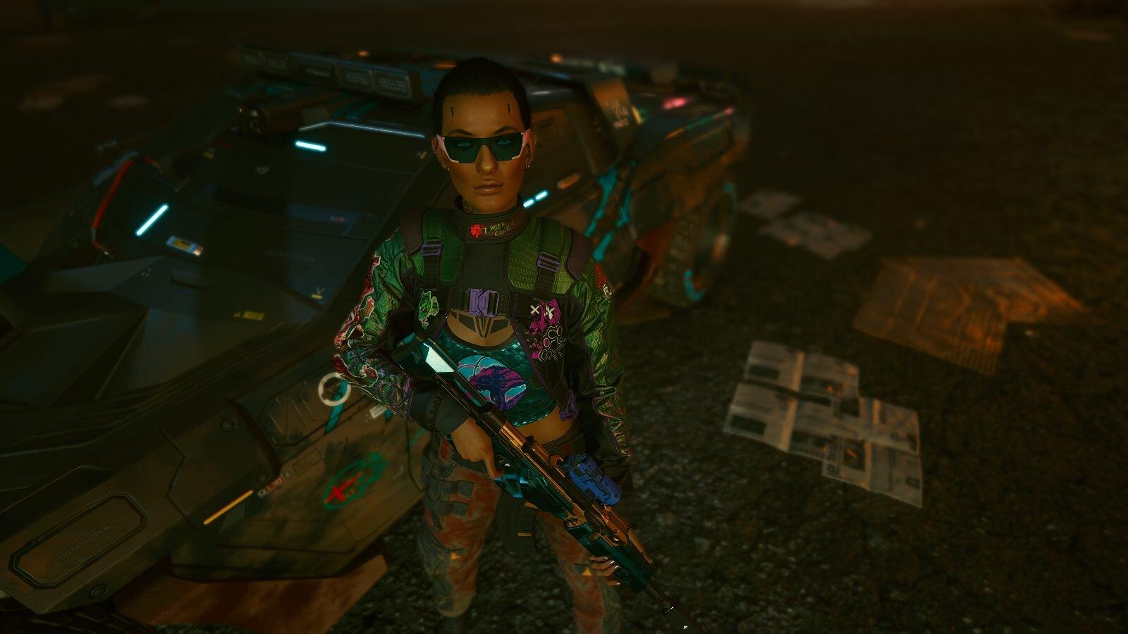 Ви обидела смертельно бандитов.. Cyberpunk 2077