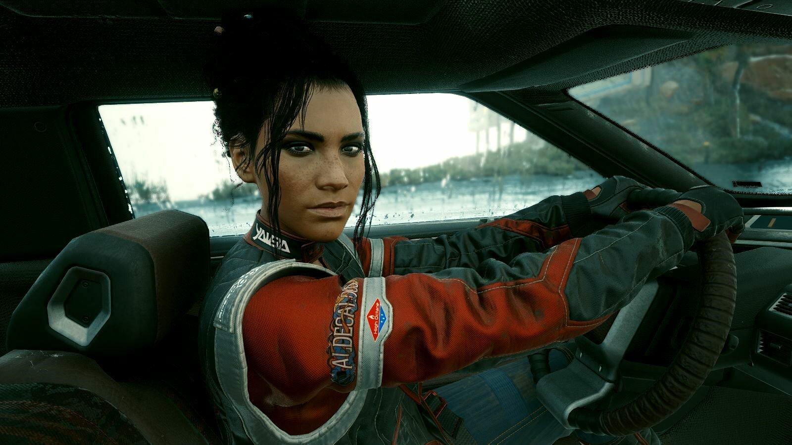 С Панам в машине.. Cyberpunk 2077