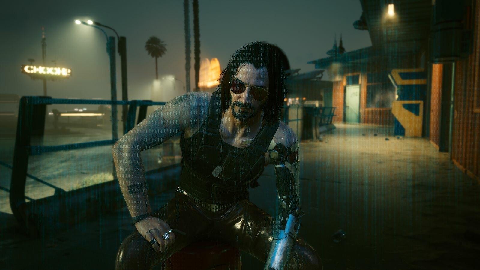Бывает приходит Джони ;) Cyberpunk 2077