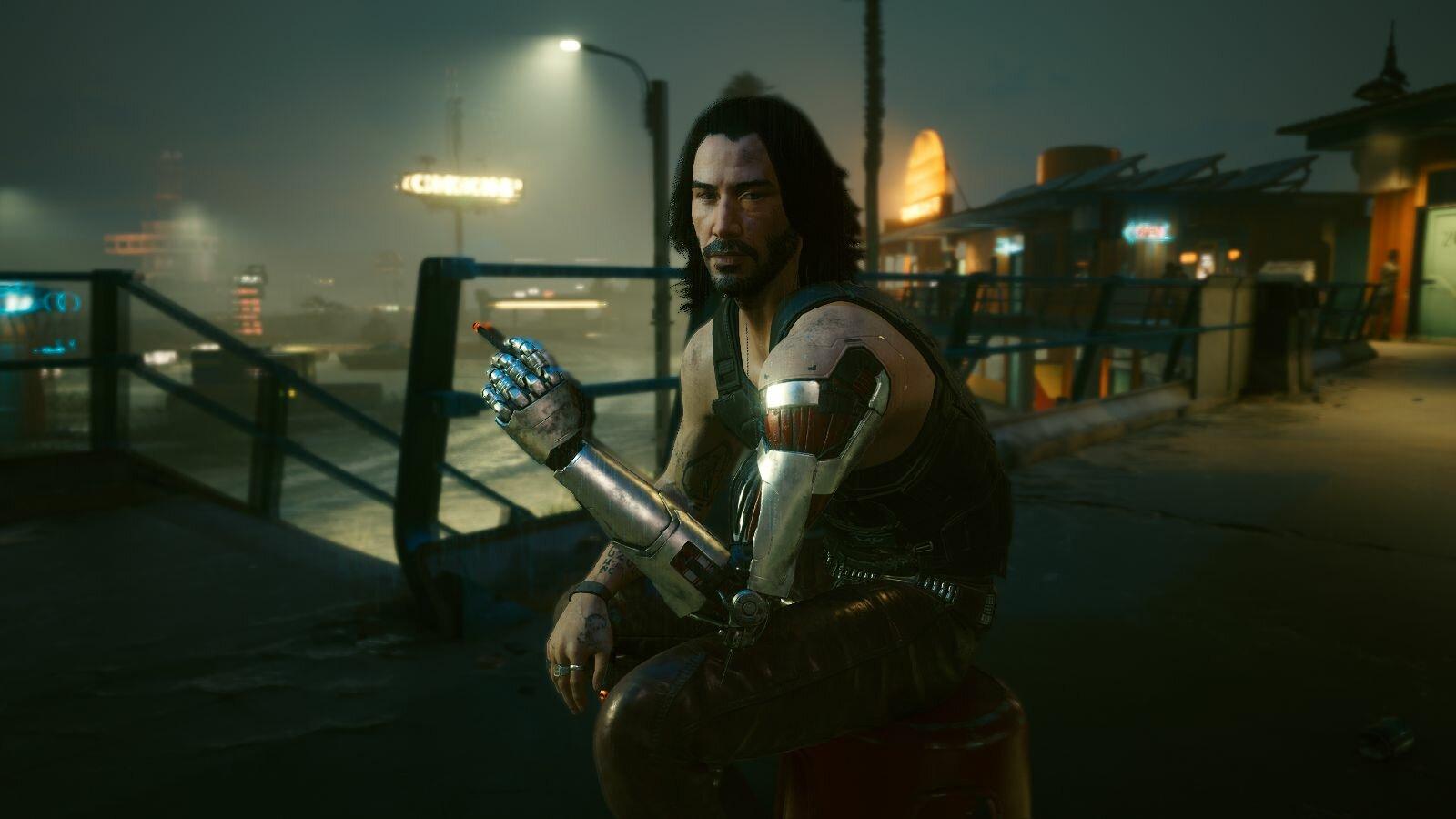 Джонни.. Cyberpunk 2077