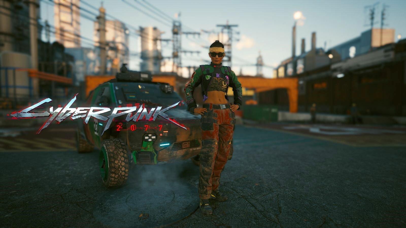 Очередная обложка. Cyberpunk 2077