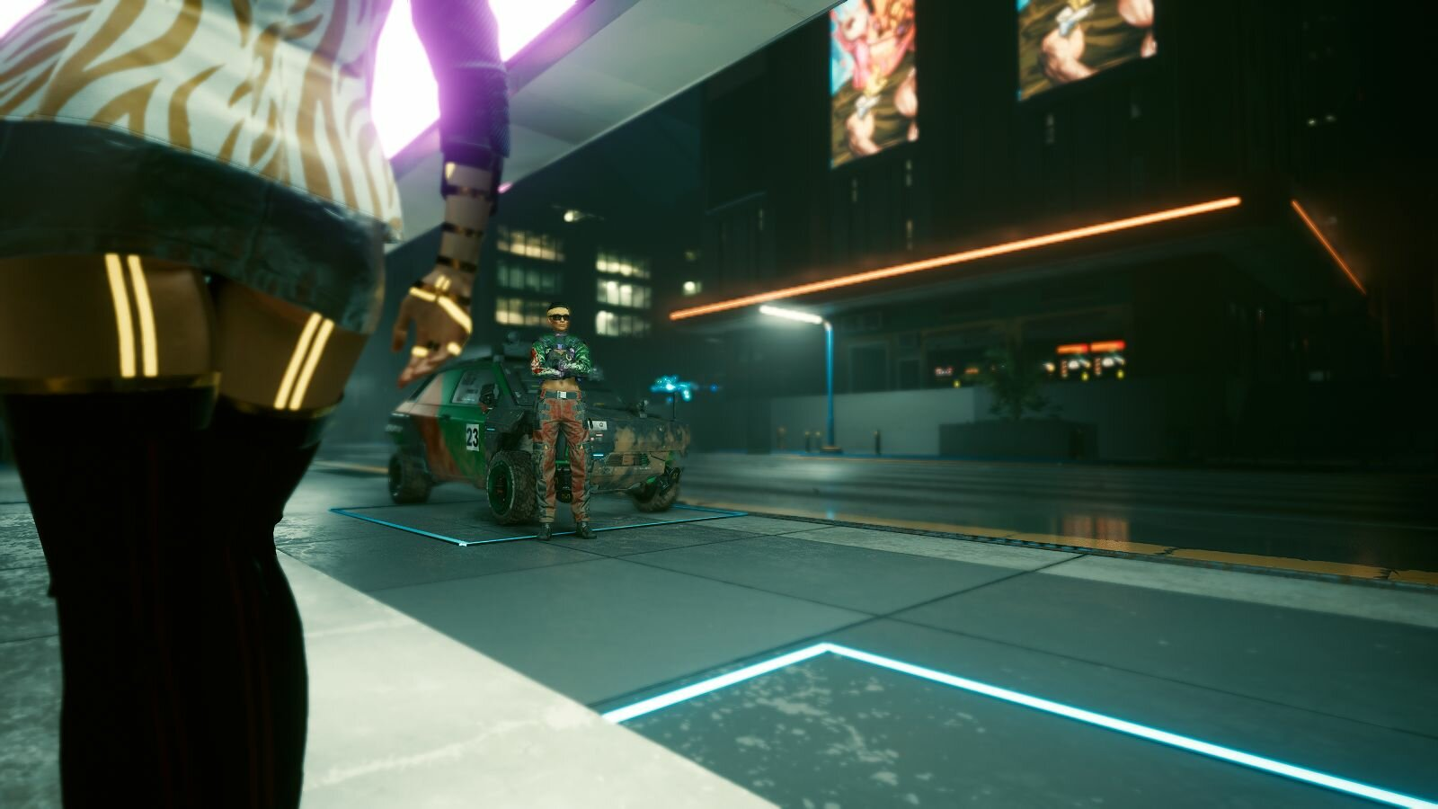 Ви ожидает заказчика.. Cyberpunk 2077