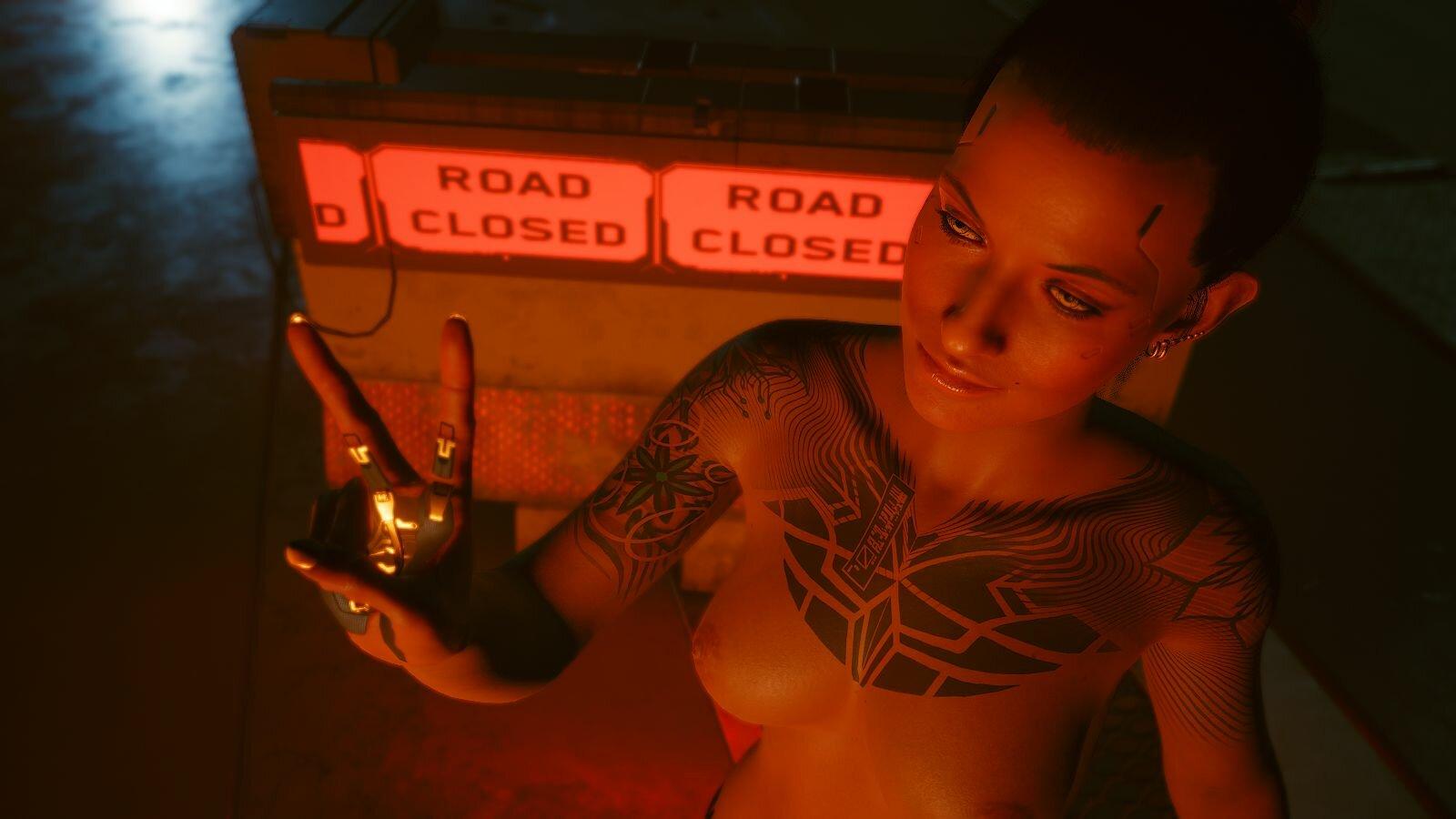 У огонька.. Cyberpunk 2077