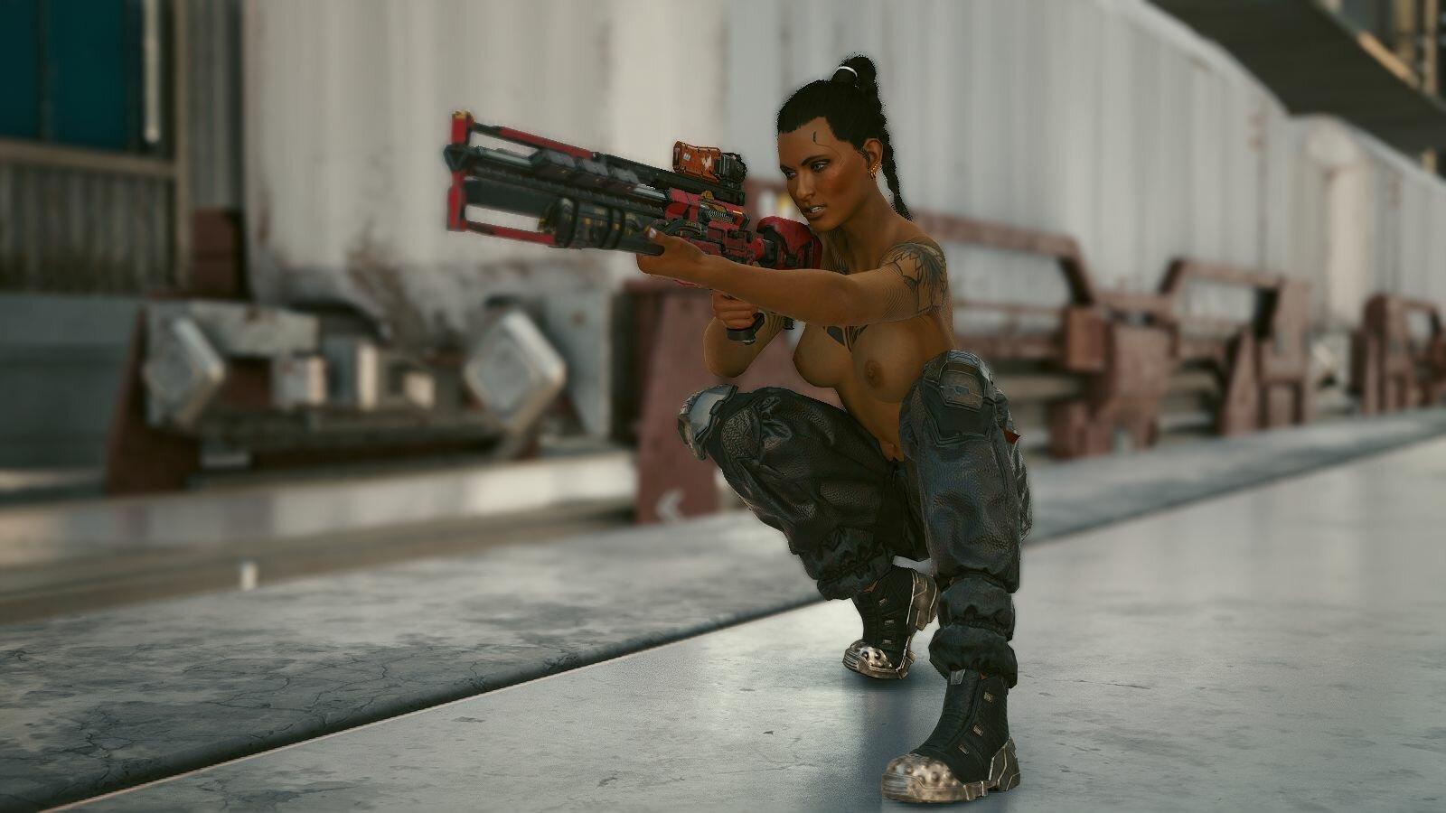 Охота на бандитов.. Cyberpunk 2077
