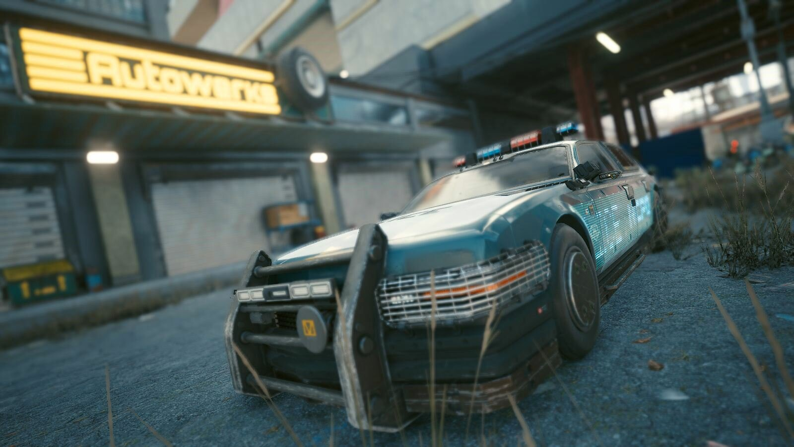 Машинка полиции.. Cyberpunk 2077